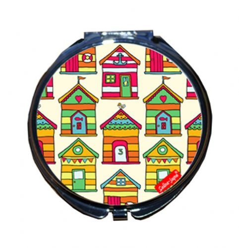 Selina-Jayne Beach Huts Limited Edition Compact Mirror